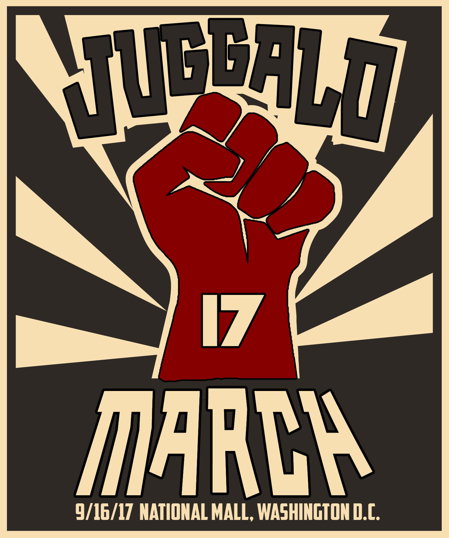 Juggalo March Poster