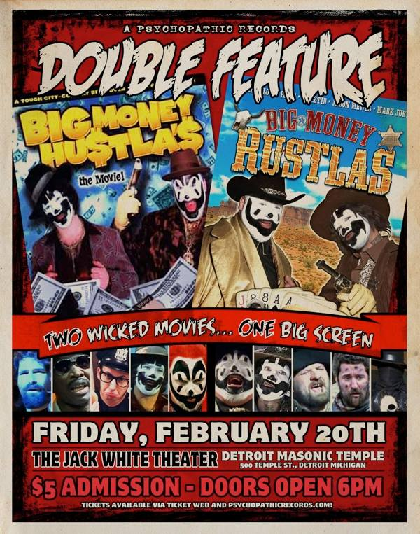 ICP Double Feature Movie Poster