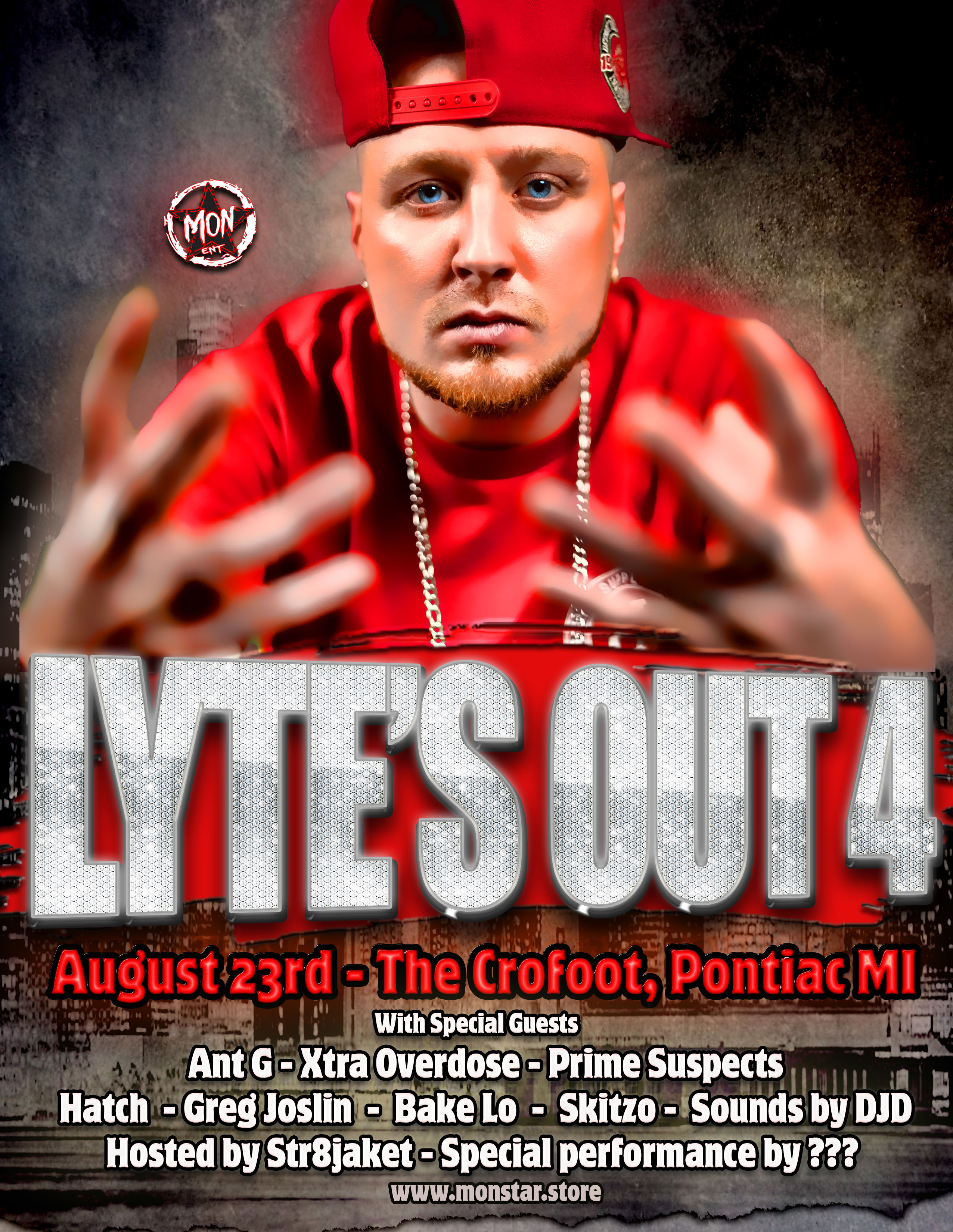 Lyte's Out 4 Flyer